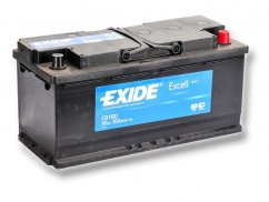 Autobaterie EXIDE Excell 110Ah, 12V, EB1100