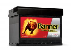 Autobaterie Banner Power Bull PROfessional P63 42, 63Ah, 12V ( PRO P63 42), technologie Ca/Ca