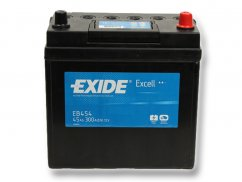 Autobaterie EXIDE Excell 45Ah, 12V, EB454