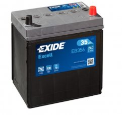 Autobaterie EXIDE Excell 35Ah, 12V, EB356
