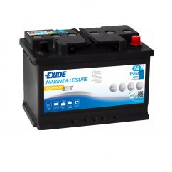 Exide Equipment Gel 12V 56Ah 410A ES650