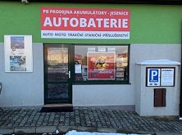 PB-Prodejna Akumulátory - Jesenice u Prahy